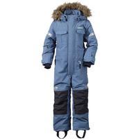 Didriksons Migisi Kid's Coverall - Coldsmoke Blue (162501063194)