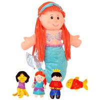 Fiestacrafts Fiesta Crafts Little Mermaid Hand & Finger Puppet Set