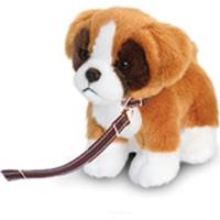 Keel Toys Standing Dog with Lead 12cm
