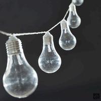 House Doctor lyskæde - Bulb 14,2 meter
