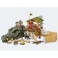 Schleich Schleich Wild Life Jungle Forskningsstation Croco 42350