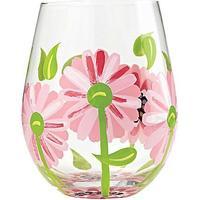 Lolita Oops A Daisy Stemless Rødvinsglas, Hvidvinsglas 59 cl