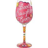 Lolita Best Daughter Ever Rødvinsglas, Hvidvinsglas 44 cl