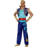 Vegaoo Kostym för arabiskinspirerad prins herrar M / L (40 - 42)