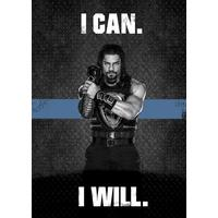 Displate WWE Roman Reigns. I Can. I Will. 32x45cm Affisch