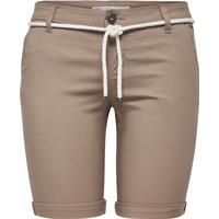 Only Solid Chino Shorts Beige/Desert Taupe