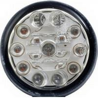 Devil Eyes LED-blinker Motorcykel, Firhjulscrosser, ATV Devil Eyes 611003 Aluminium (Ø) 45 mm