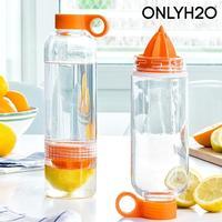 ONLY H2O drikkeflaske med citruspresser