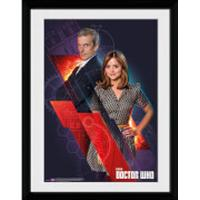 GB Eye Doctor Who Clara and Doctor 30x40cm Plakater