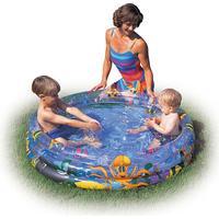 Bestway Ocean Life Kids Paddling Pool 122x25cm