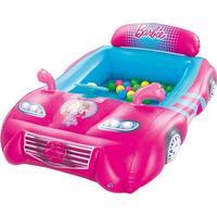 Bestway Barbie Sportsbil Boldebassin med 25 Bolde
