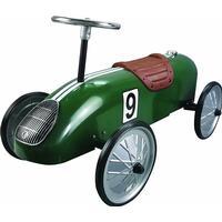 Great Gizmos Green Retro Racer Ride On 8340