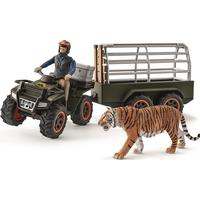 Schleich Quad Bike with Trailer & Ranger 42351