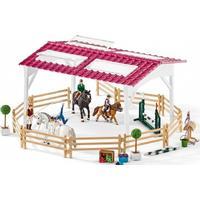 Schleich Riddeskole med ryttere og heste 42389