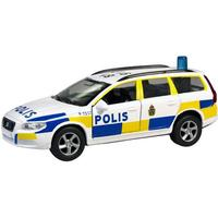 Junior Driver Polisbil med Ljud och Ljus Volvo V70