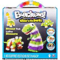 Spin Master Bunchems Glow'n the Dark Dinosaur