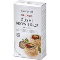 Clearspring Organic Sushi Brown Rice 500g