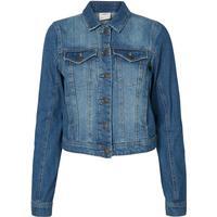Vero Moda Long Sleeved Denim Jacket Blue/Medium Blue Denim (10156583)