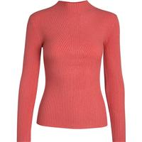 Pieces Knitted Pullover Orange/Spiced Coral (17079727)