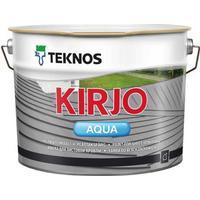 Teknos Kirjo Aqua Rostskyddsfärg Vit 2.7L