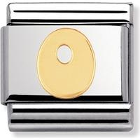 thbaker Nomination Letters O Stainless Steel Charm (030101/15)