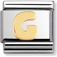 thbaker Nomination Letters G Stainless Steel Charm (030101/07)