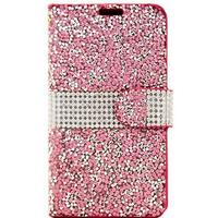 LG K7 Beyond Cell Diamond Glitter Pung Taske - Pink