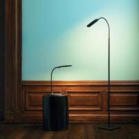 Halo Design Pittsburgh golvlampa LED svart 135cm