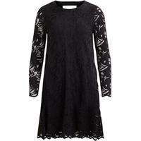 Vila A-shape Lace Dress Black/Black (14042581)