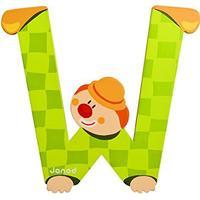 Janod Clown Letter W