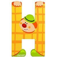 Janod Clown Letter H