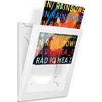 Art Vinyl Play & Display rammer til pladeomslag, hvid