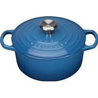 Le Creuset Marseille Blue Signature Cast Iron Round Topf 18cm