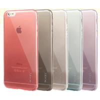 Leiers Thin Ice Jelly Series iPhone 6 6s Plus 5.5 inches TPU Transparent Case