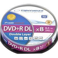 Esperanza DVD+R 8.5GB 8x Spindle 10-Pack