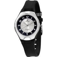 Calypso K5162/3 Damen-Armbanduhr Schwarz/Silber