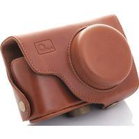 O.n.e läderväska - samsung ex1 brun