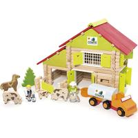 Jeujura Farm Wooden Construction Kit 8054