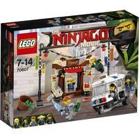 Lego The Ninjago Movie Jagt i Ninjago City 70607