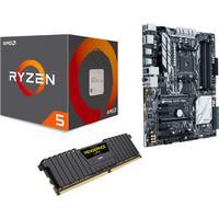 Webhallen Upgrade Kit Ryzen 5 - (X370 / Ryzen 5 1600 / 16GB)