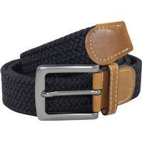 No1 elastiskt bälte / skärp navy / blå - 5 olika längder