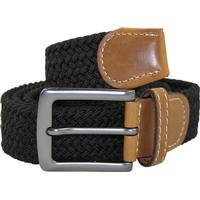 No1 elastiskt bälte / skärp svart - 5 olika längder