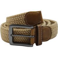No1elastiskt bälte / skärp khaki beige - 3 olika längder