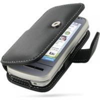 PDair Leather Book Case (Nokia C6)