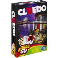 Cluedo Grab & Go (Engelska) Resespel