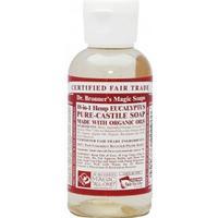 Dr. Bronners Organic Eucalyptus Castile Liquid Soap 59ml