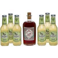 Monkey 47 Ginpakke - Sloe Gin m 29% 50 cl