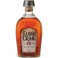Elijah Craig 12 YO Bourbon Whiskey 47% 75 cl