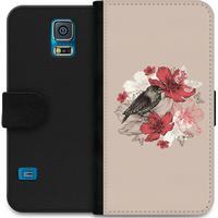 iSecrets Wallet Case Vintage Bird (Galaxy S5/S5 Neo)