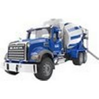 Bruder Mack Granite Cement Mixer 02814